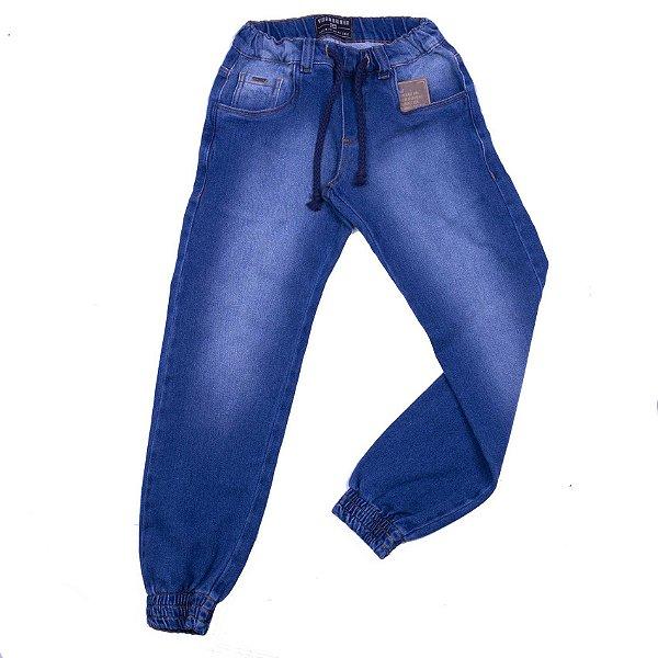 Calça Jeans Infanto Modelo Jogger - INFANTIL