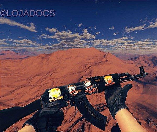 StatTrak™ AK-47 | Elite Build (Field Tested) ADESIVOS LINDO