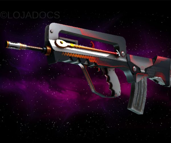 StatTrak™ Famas | Valence (Field Tested)