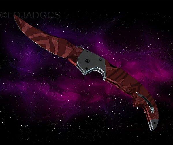 Pré-Venda [ENCOMENDA] ★ Falchion Knife | Slaughter (Minimal Wear)