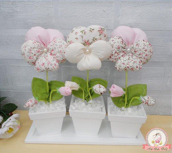 6392ed155 Arranjo floral Flor Amor-Perfeito -  title  Arte Bela Baby-Loja de ...