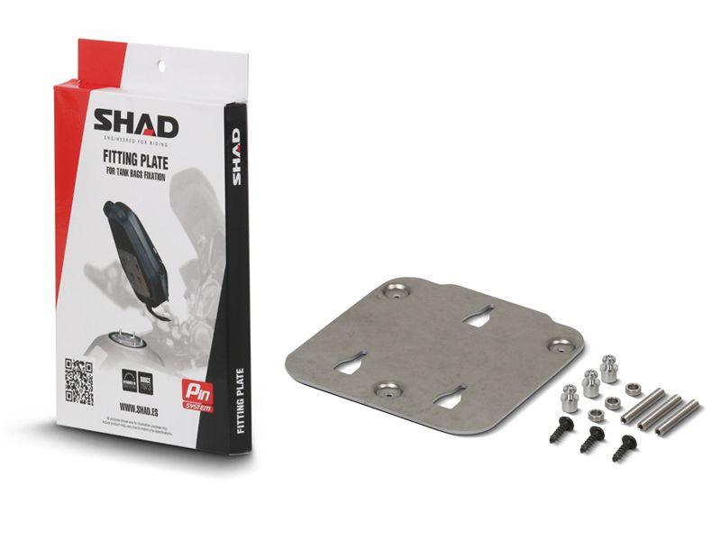 SHAD X011PS SUPORTE BOLSA DE TANQUE PIN SYSTEM PARA DUCATI, MV AGUSTA E YAMAHA