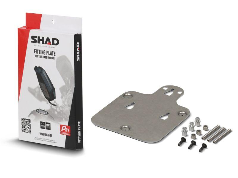 SHAD X012PS SUPORTE BOLSA DE TANQUE PIN SYSTEM PARA YAMAHA MT-07 E MT-09 TRACER