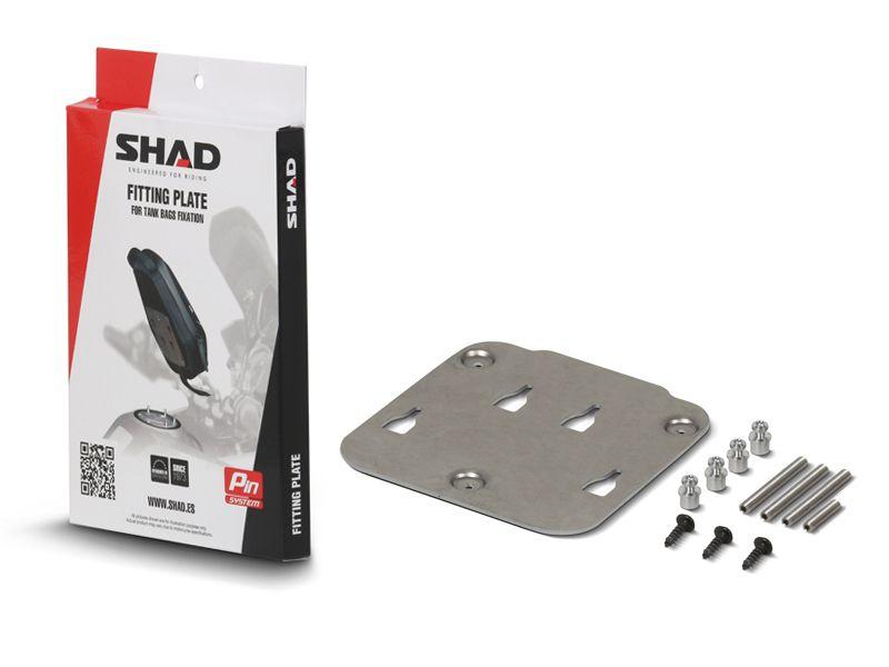 SHAD X018PS SUPORTE BOLSA DE TANQUE PIN SYSTEM PARA BMW, MV AGUSTA E TRIUMPH