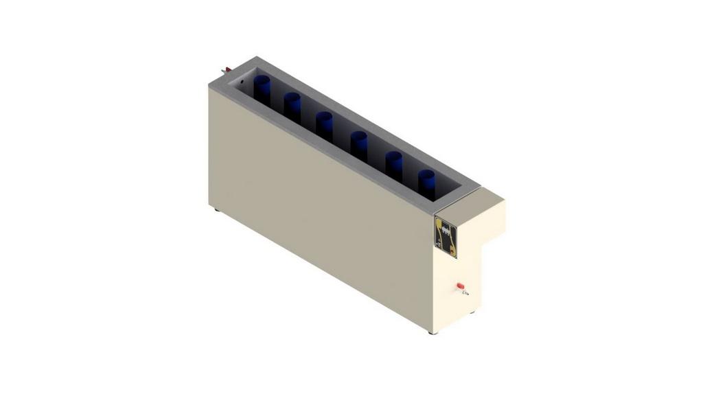 Banho termorregulador para proveta com aquecimento 220V - 50/60HZ
