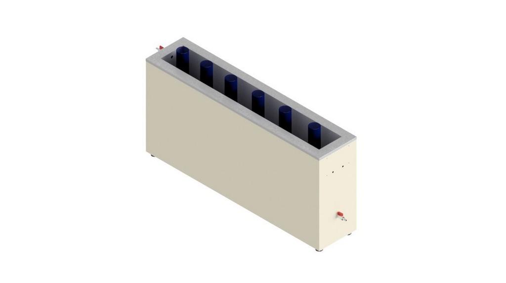 Banho termorregulador para proveta sem aquecimento