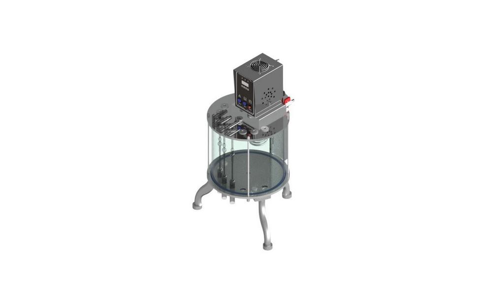 Banho Viscosimetro Cinematico Atlantic para 8 provas - ASTM D445