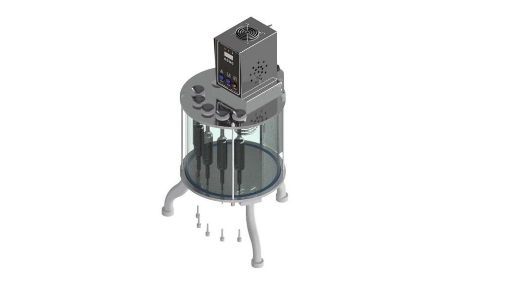 Banho Viscosimetro Cinematico para Gelatina 5 provas