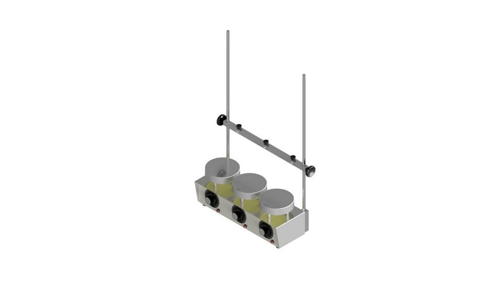 Bateria de extracao segundo Sebelin para 3 provas