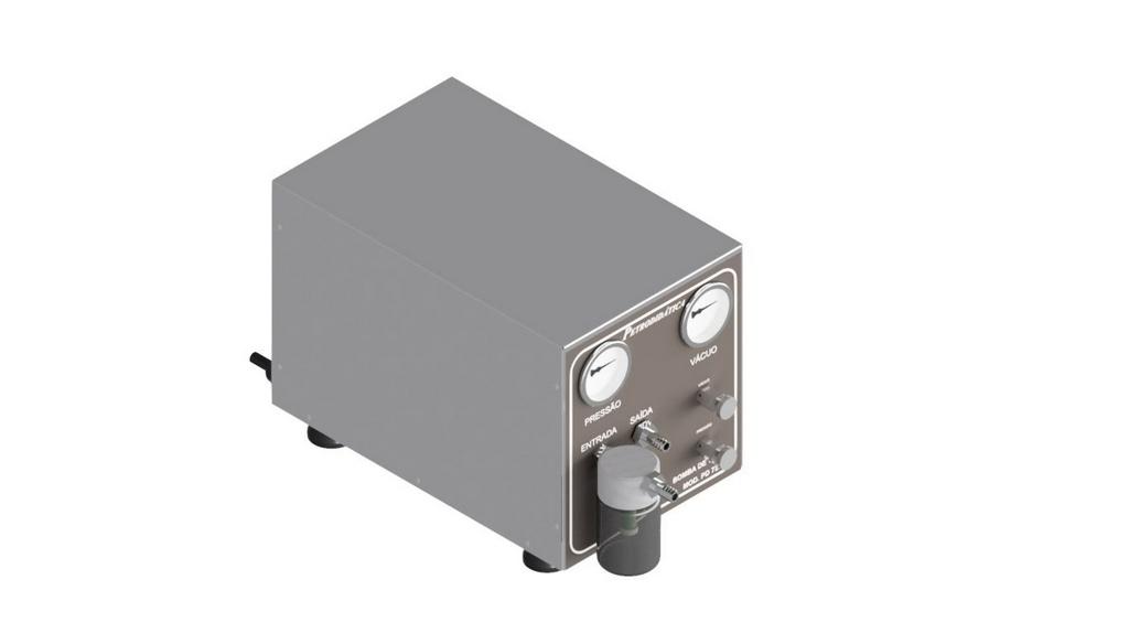 Bomba de vacuo e ar comprimido tipo 2VC CAP. 37L/MIN caixa de inox (isenta de oleo)