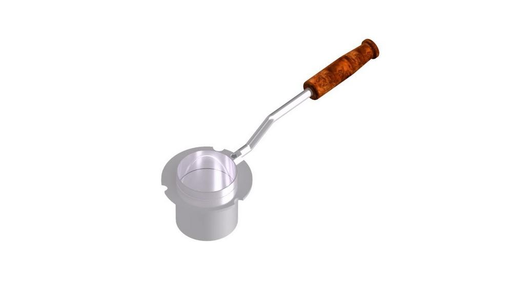 Caneca para Ponto de Fulgor Pensky-Martens (vaso fechado) semi-automatico
