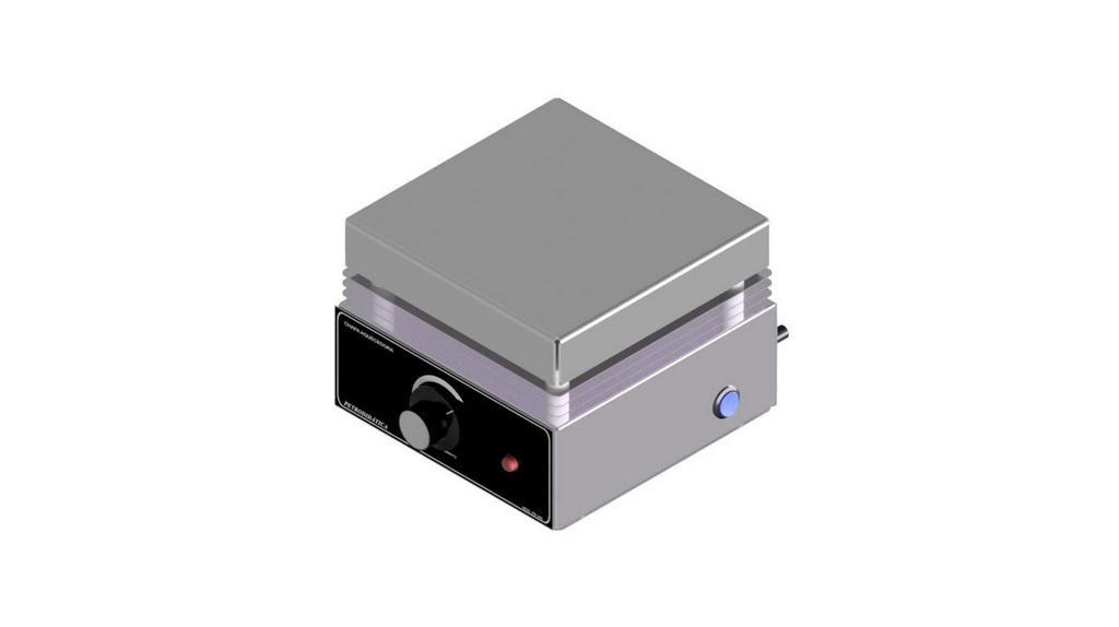 Chapa aquecedora 20 X 20CM analogica