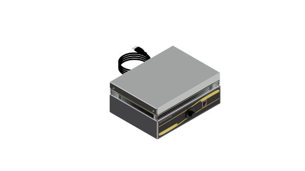 Chapa aquecedora analogica 400 x 300 mm