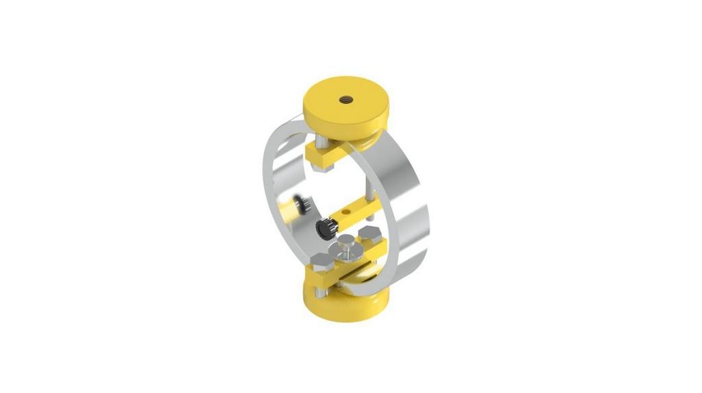 Conjunto para ensaio Mini-CBR de campo com anel Dinamometrico de 500KGF
