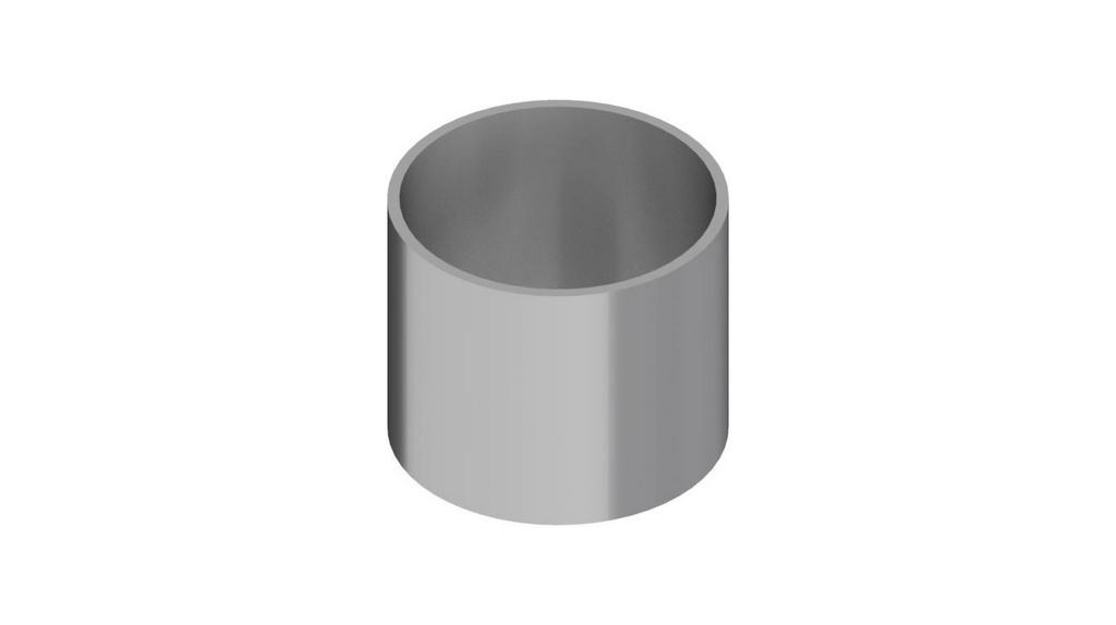 Cuba de transferencia de aluminio para Penetrometro