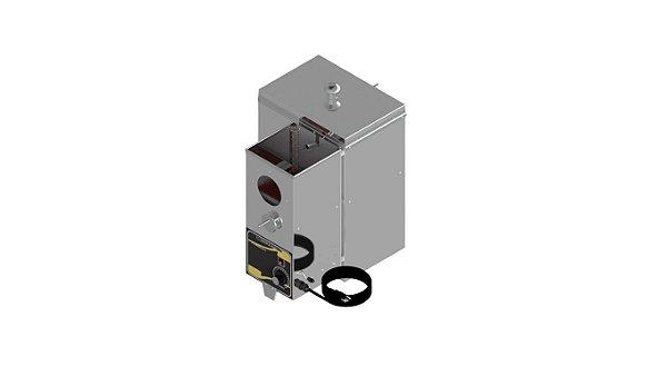 Destilador de solvente com amperimetro