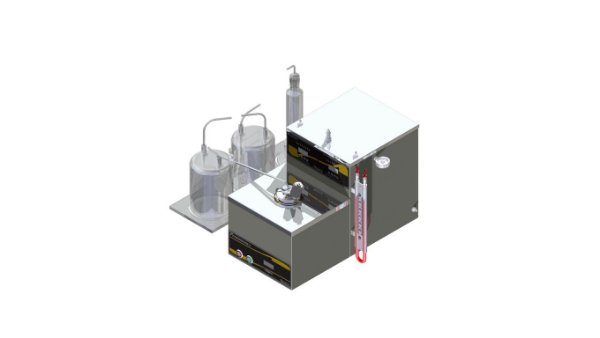 Determinacao da perda por evaporacao (Noack) conforme ASTM D-5800 E NBR-14157