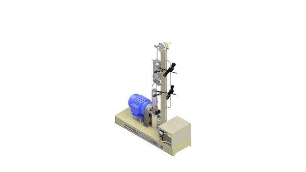 Determinacao de estabilidade ao cisalhamento de polimeros conforme ASTM D-7109 E ASTM D-6278