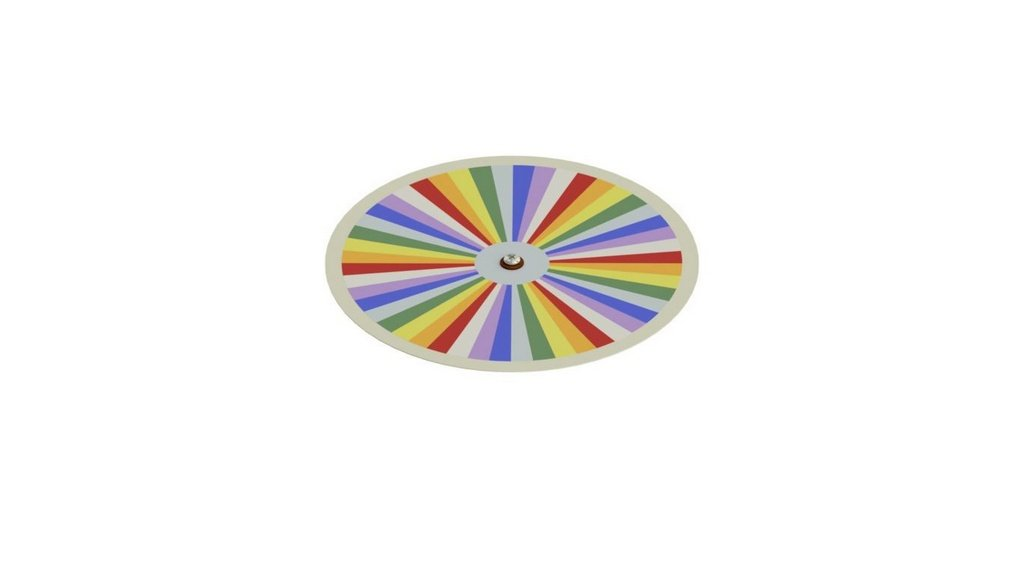 Disco De Newton eletrico