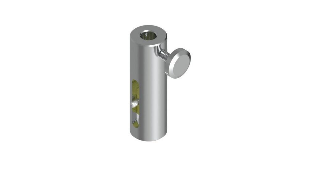 """Dispositivo para adaptar extensometro de 1"""" ao molde (SEM EXTENSOMETRO)"""