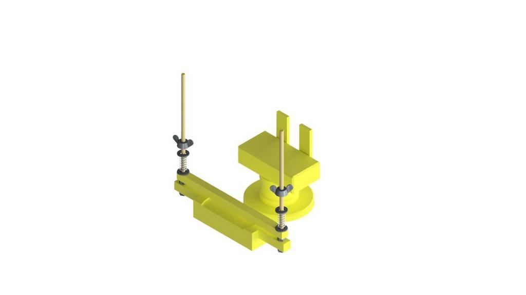 Dispositivo para romper corpo de prova DIAM. 5X10CM na diametral