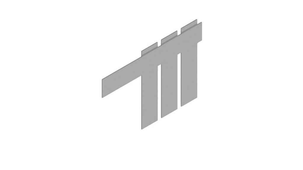 Espatula para forma 4X4X16CM tripla