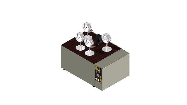 Estabilidade a oxidacao de graxas lubrificantes pelo metodo de vaso de pressao de oxigenio ASTM D-942