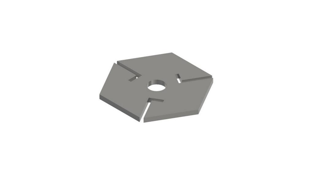 Helice Hexagonal para dispersor