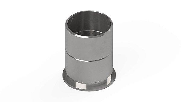 Molde para compactacao Marshall completo com corpo, colar e base