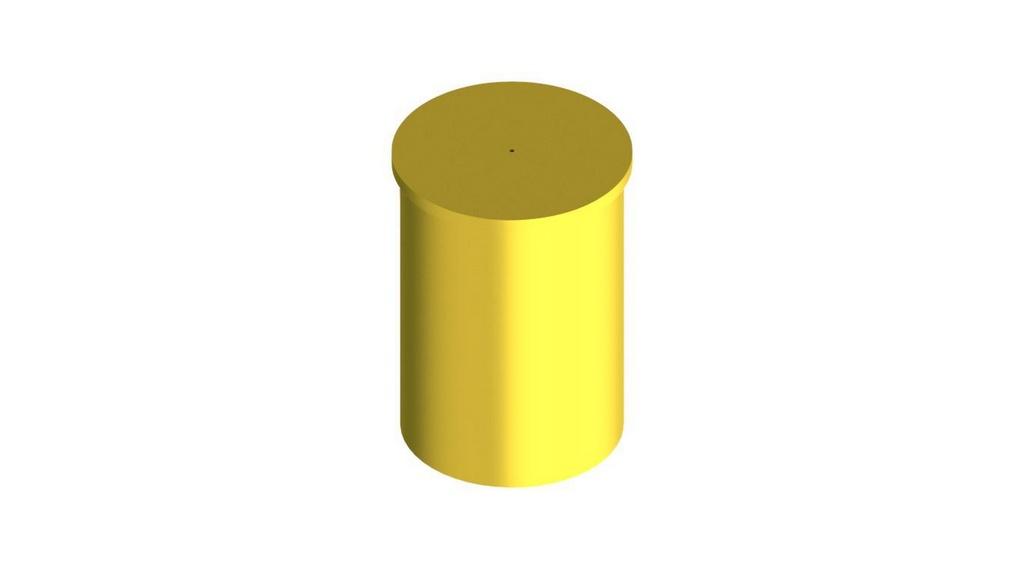 Picnometro de latao 100ML