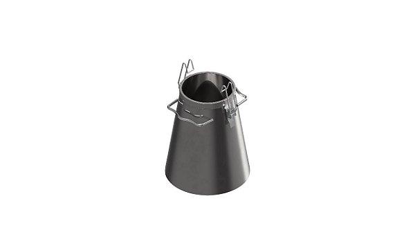 Picnometro metalico para Rice Test CAP. 4L