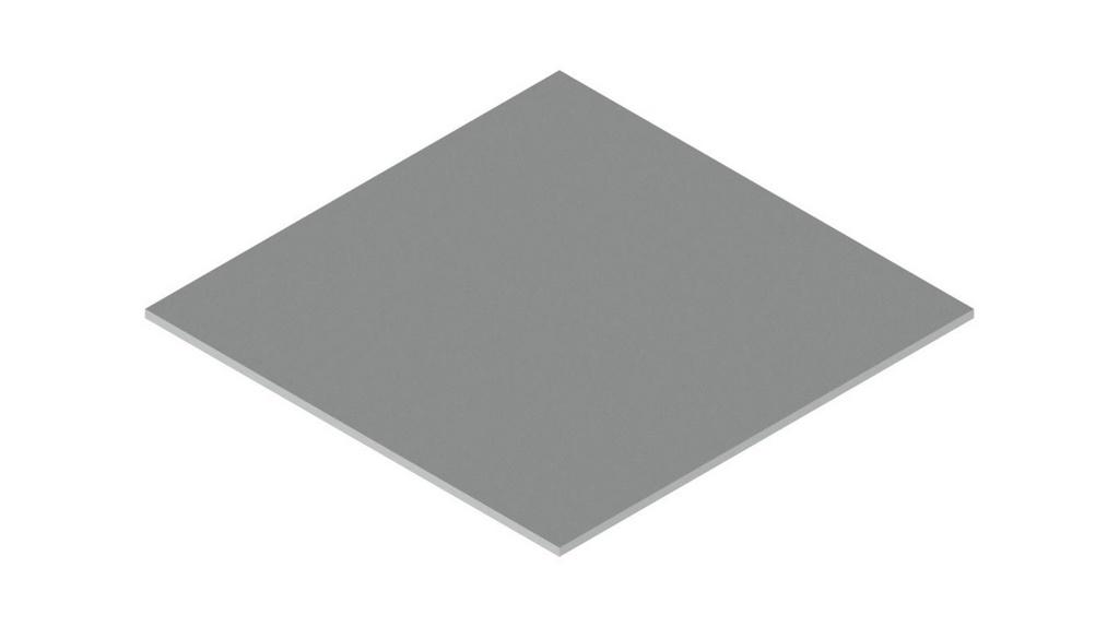 Placa de aluminio (AL) 50X50MM