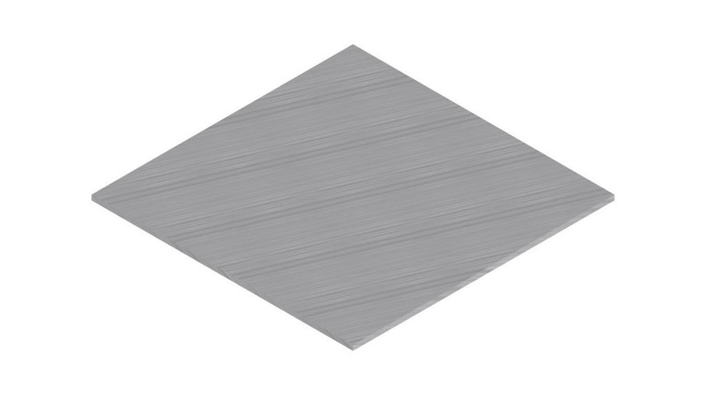 Placa de zinco (ZN) 50X50MM