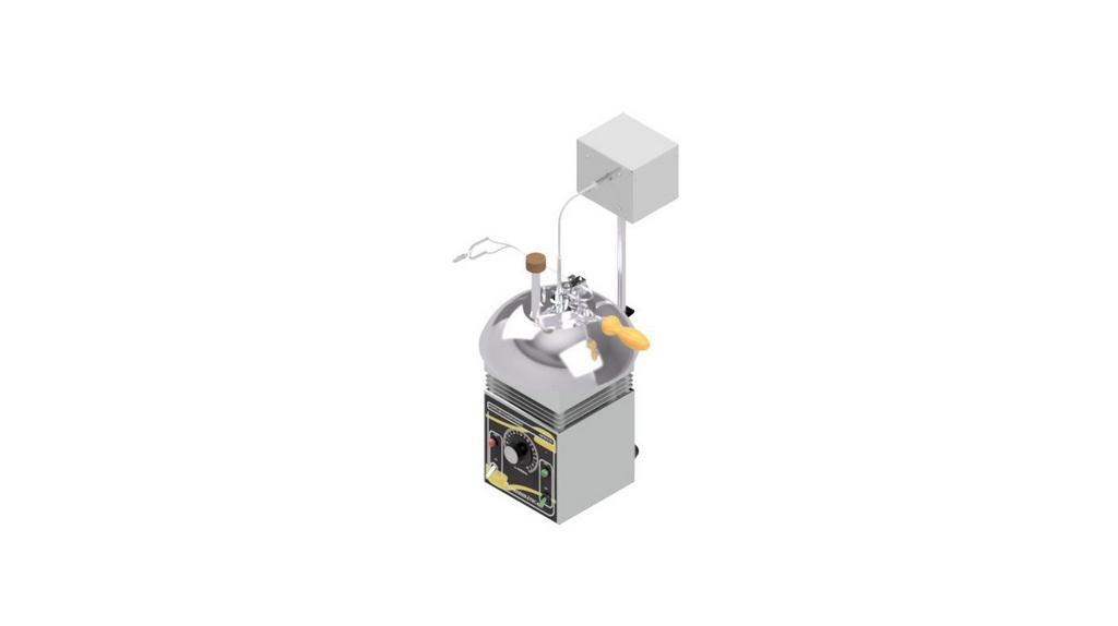 Ponto de Fulgor Pensky-Martens (vaso fechado) semi-automatico com agitacao- ASTM D-93