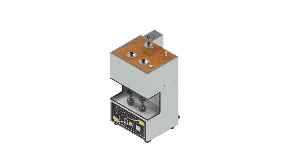 Viscosimetro Saybolt Universal para 2 provas conforme ASTM D-88 E D-102
