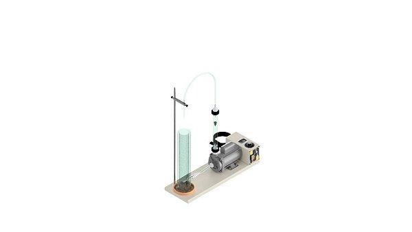 Equipamento para teste de Espuma com bomba de circulacao, norma Peugeot/Citroen E02.41.33.G