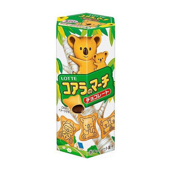 Biscoito Koala do Japão Sabor Chocolate Lotte
