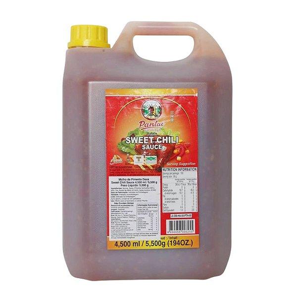 Molho de Pimenta Sweet Chilli Sauce 4,5 litros Pantai