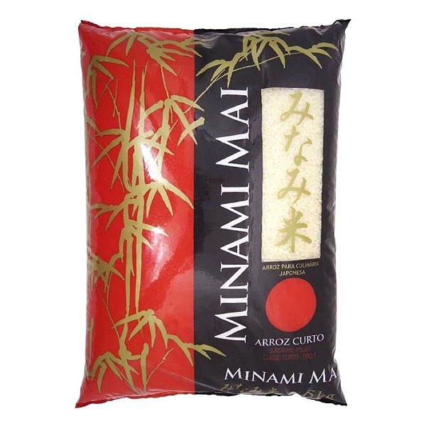 Arroz Japonês Grão Curto 5kg Minami Mai