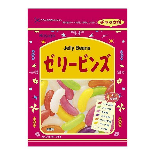 Bala de Goma Jelly Beans Kasugai