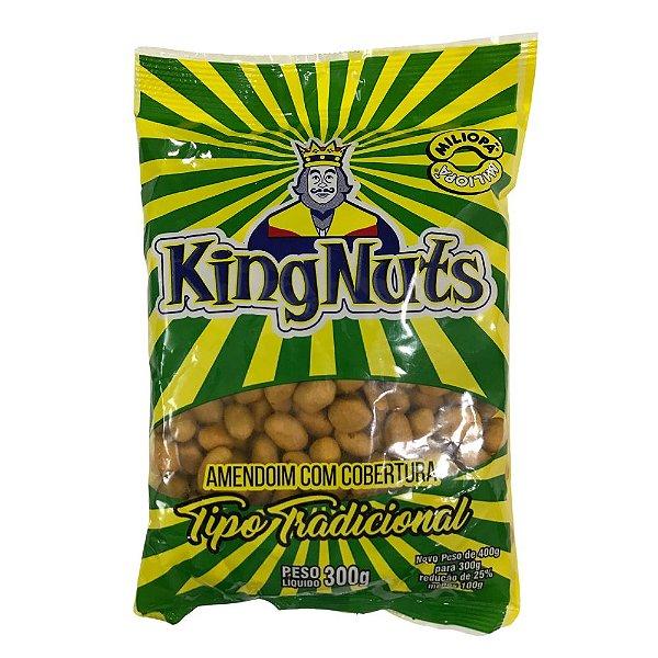 Amendoim com Cobertura Tradicional 300g KingNuts