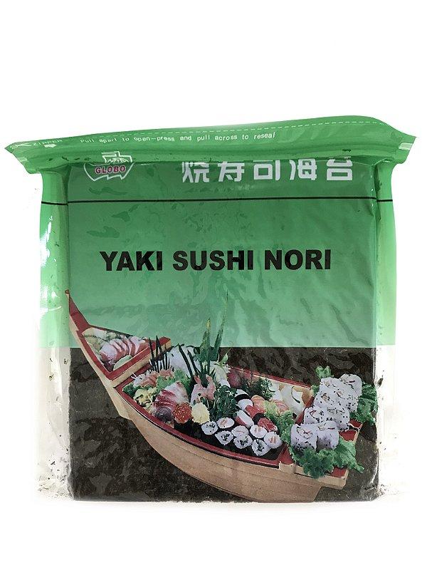 Alga para Sushi - 50 Folhas - Nori Globo