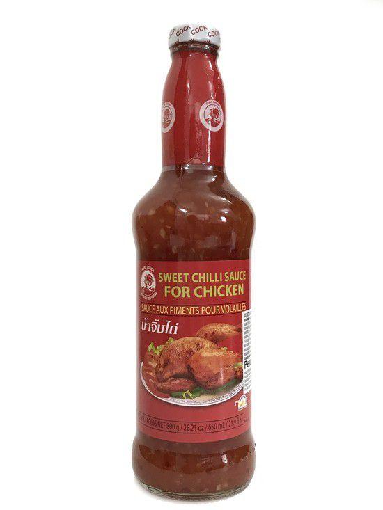 Molho de Pimenta Sweet Chilli Sauce 650ml Cock Brand