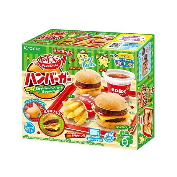 Doce Instantâneo Japonês - Hamburguer Snack - Kracie Popin Cookin
