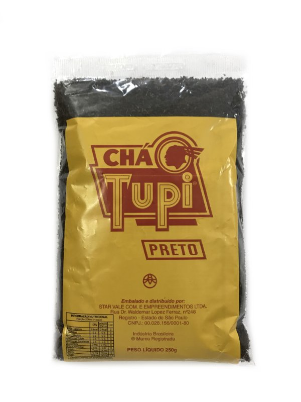Chá Preto 250g Chá Tupi