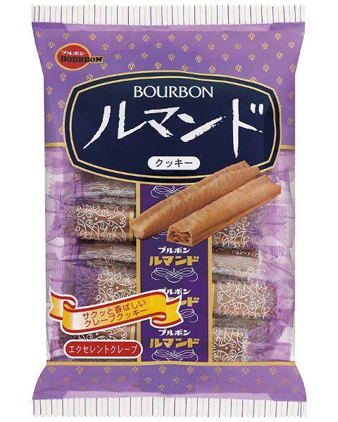 Biscoito Doce Japonês Folhado Lumonde Bourbon