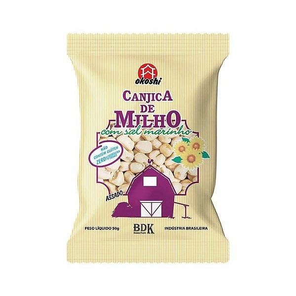 Canjica de Milho com Sal Marinho 50g Hikage