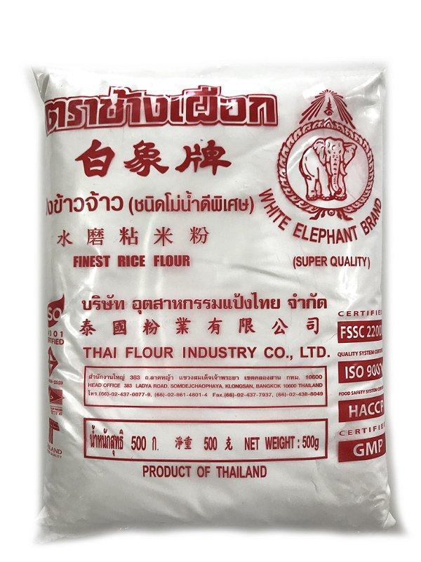 Farinha de Arroz 500g White Elephant Brand