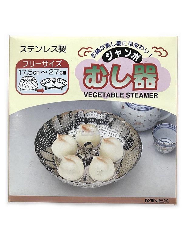 Base para Cozimento a Vapor - 17,5cm - Vegetable Steamer
