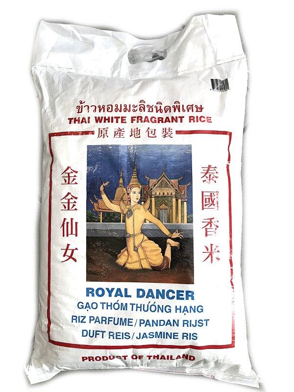 Arroz Jasmin Thai White Fragrant Rice 10kg Royal Dancer